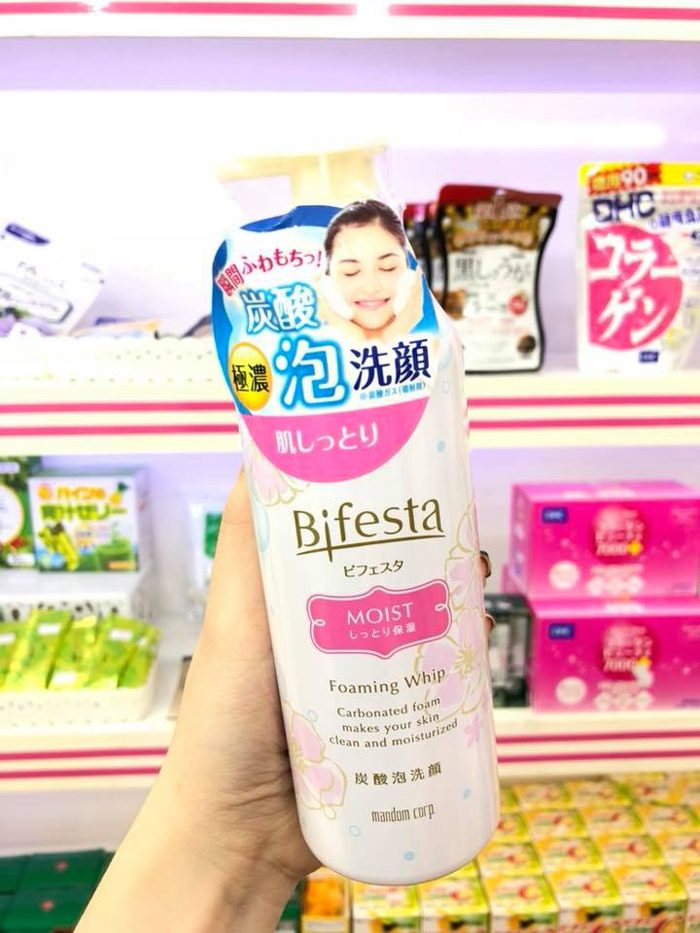 Sữa Rửa Mặt Bifesta Foaming Whip