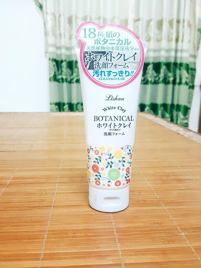 Sữa Rửa Mặt botanical lishan white clay