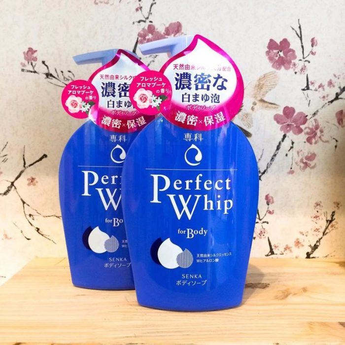 Sữa Tắm Shiseido Senka Perfect Whip For Body