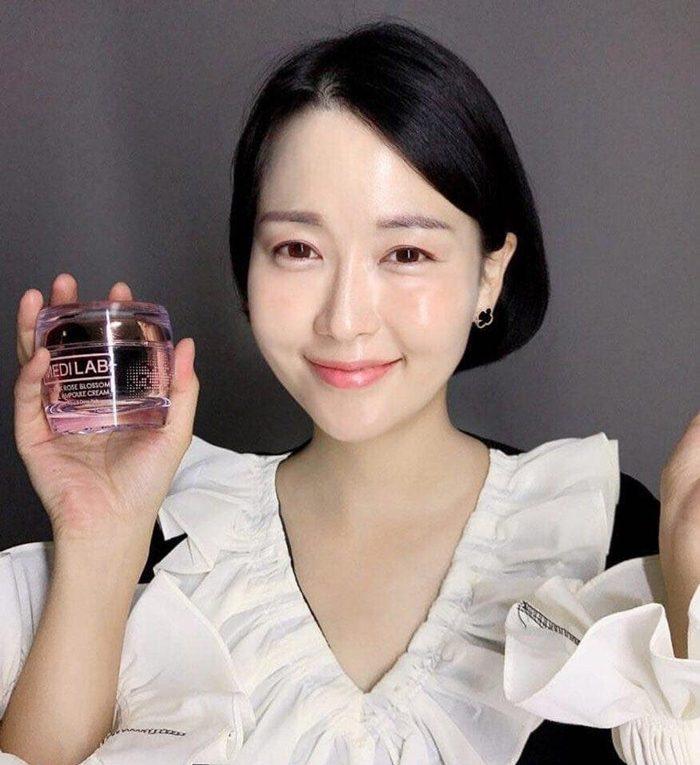 Kem Hoa Hồng Đen MEDILAB Black Rose Blossom Dual Ampoule Cream