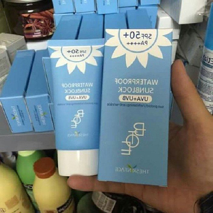 Kem Chống Nắng The Skin Face Bote WaterProof SunBlock SPF50+ PA++++