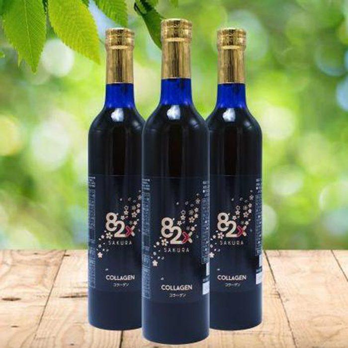 Nước Uống 82x Sakura Collagen  Premium 120000mg