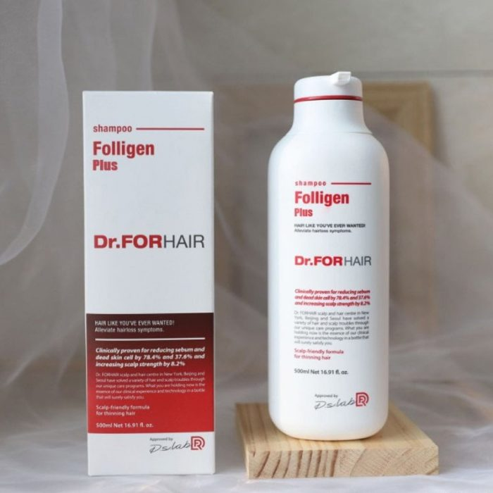 Dầu gội Dr.FORHAIR Folligen Plus Shampoo