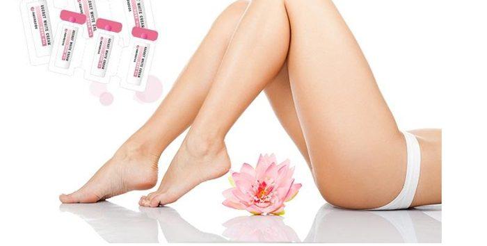 Dung dịch làm hồng se khít vùng kín Amusecos Secret White Cream Rose oil
