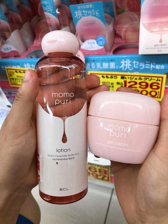 Kem dưỡng ẩm Momo Puri gel cream