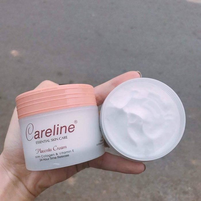 kem nhau thai cuu careline placenta cream with collagen vitamin e
