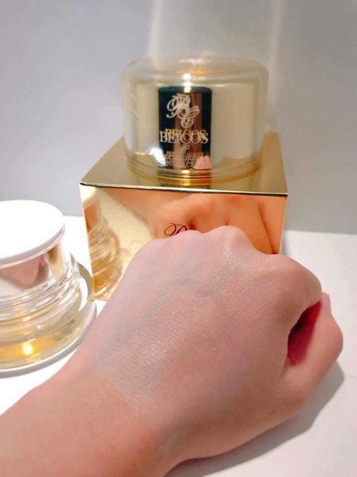 Kem dưỡng kích trắng Beicos Peptide Honey Tone Up Cream 50g