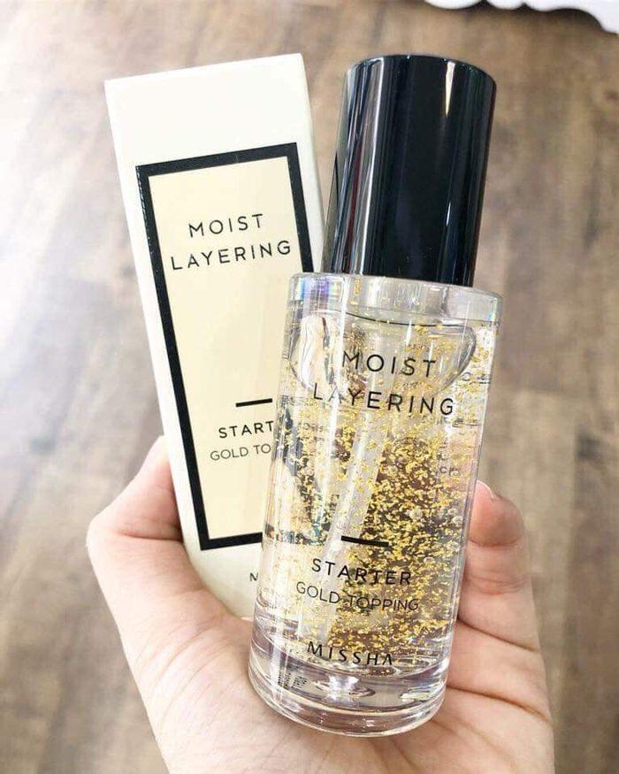 Kem lót Missha Moist Layering Starter Gold Topping