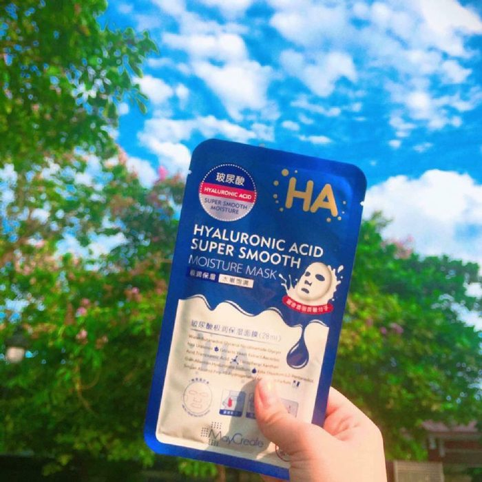 Mặt nạ dưỡng ẩm HA Hyaluronic Acid Super Smooth