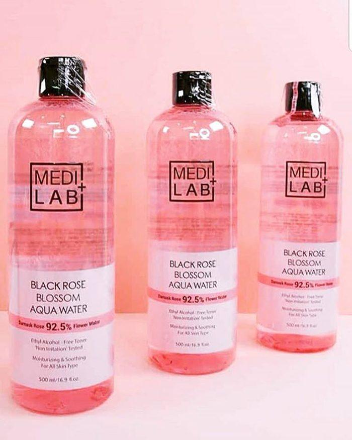 Nước Hoa Hồng Medilab Black Rose Blossom Aqua Water