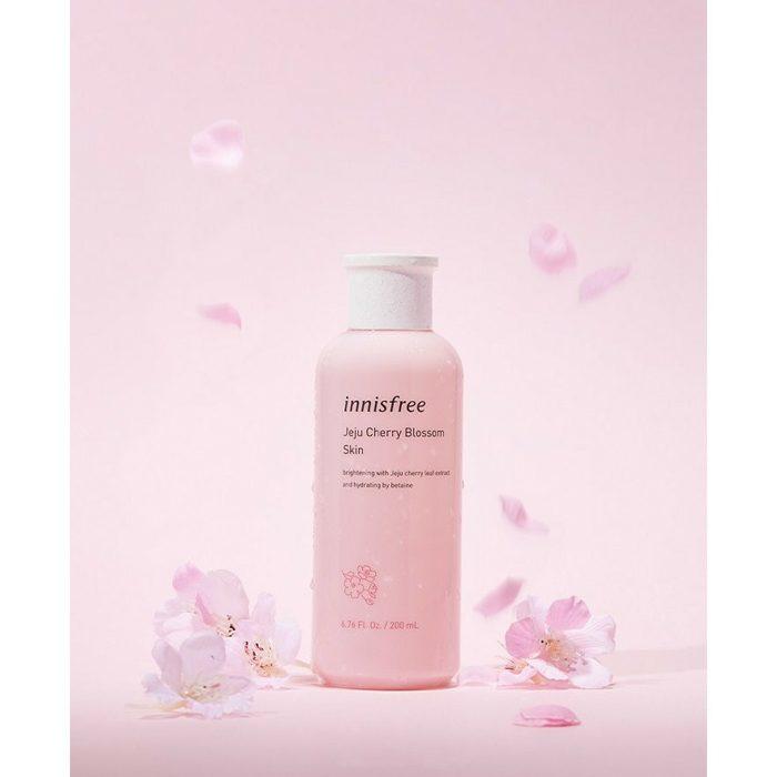 Nước hoa hồng innisfree jeju cherry blossom skin