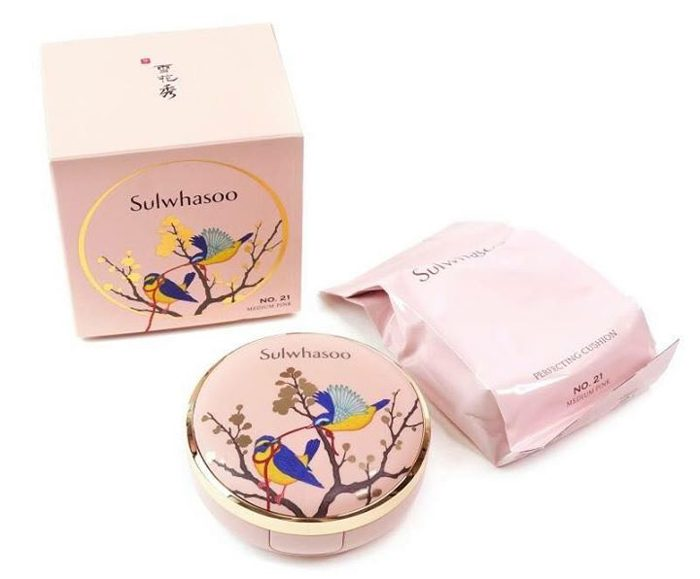Phấn Nước Sulwhasoo Perfecting Cushion Brightening SPF50+ PA