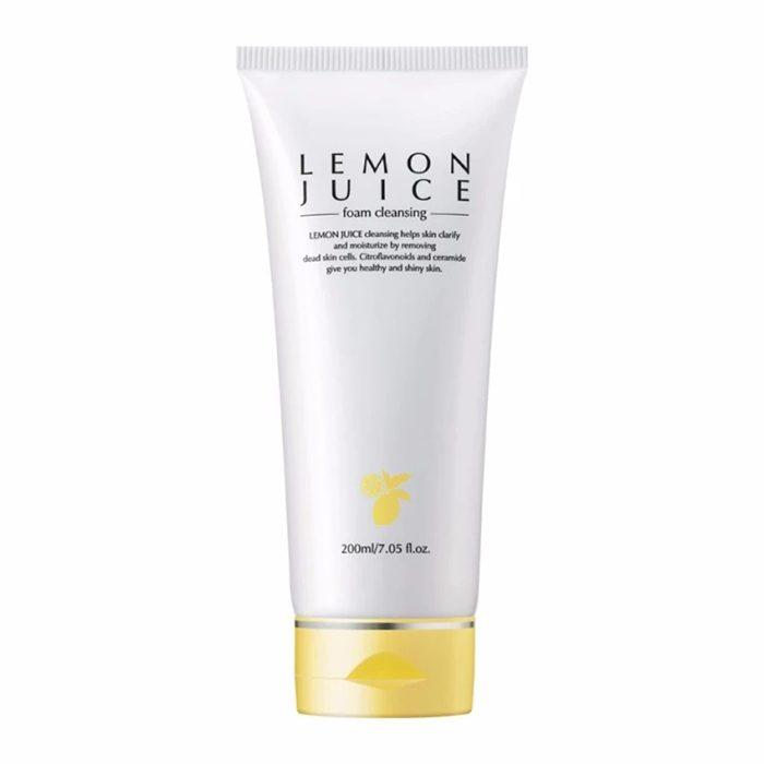 Sữa rửa mặt Geo Lemon Juice Foam Cleansing