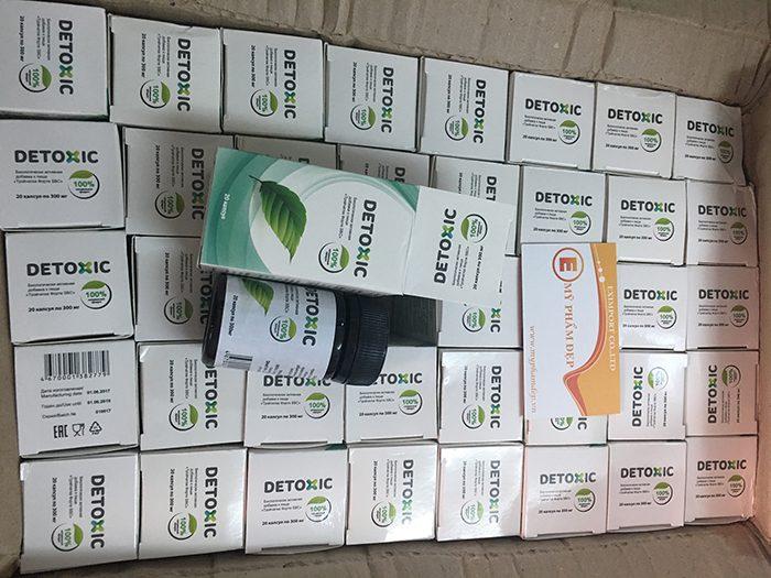 viên uống detoxic dietary supplement