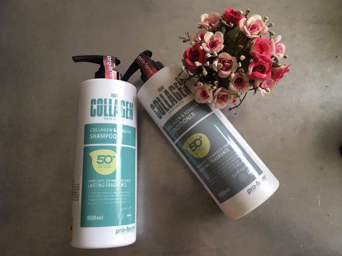 Dầu gội Pro-ferm Collagen & Keratin
