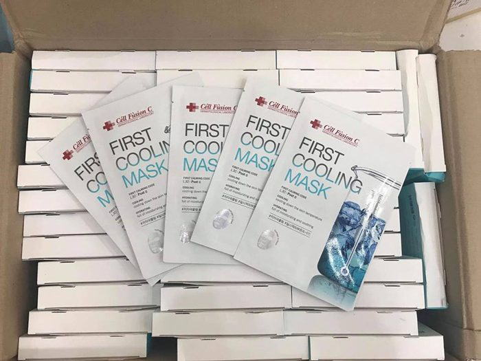 Mặt nạ Cell Fusion C First Cooling Mask