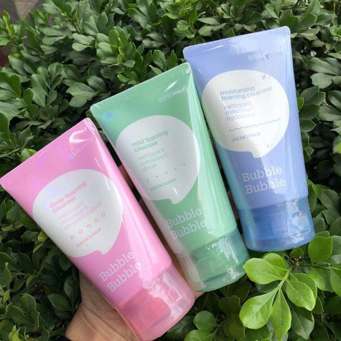 Sữa rửa mặt The Face Shop Bubble Bubble Foaming Cleanser
