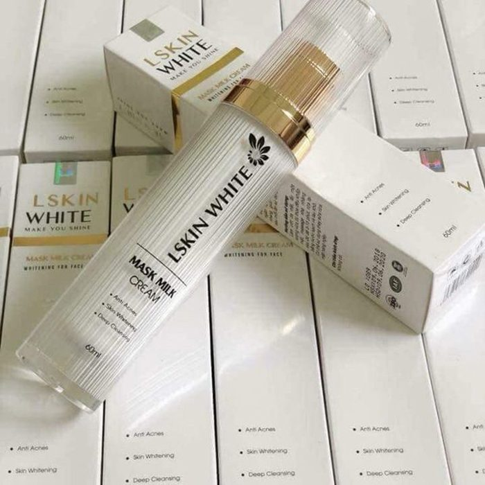 Ủ kén tằm Lskin White Mask Milk Cream