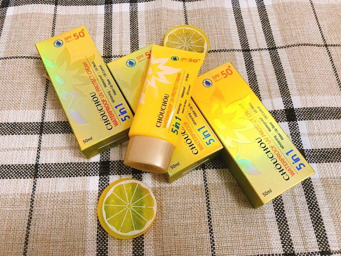 Kem chống nắng ChouChou Waterproof UV Protect Cream SPF50+ PA+++