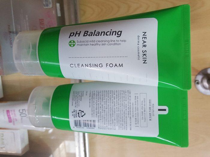 Sữa rửa mặt Missha Near Skin pH Balancing Cleansing Foam