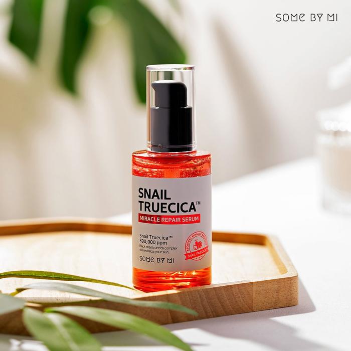 SOME BY MI - Tinh chất ốc sên phục hồi da snail truecica miracle repair serum