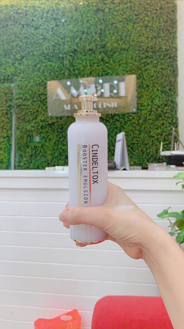 Nhũ tương dưỡng trắng Cindel tox Booster Emulsion