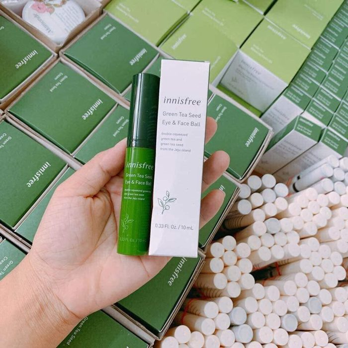 Thanh lăn mắt Innisfree Green Tea Seed Eye & Face Ball