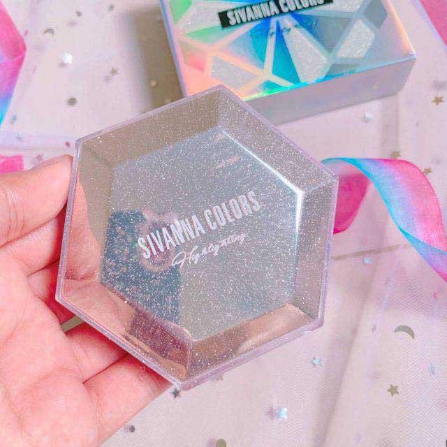 Phấn Bắt Sáng Sivanna Colors Ultra Diamond Highlighter Powder