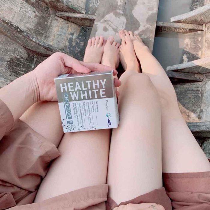 Viên Uống Trắng Da Healthy White Efferglow Cosmeheal