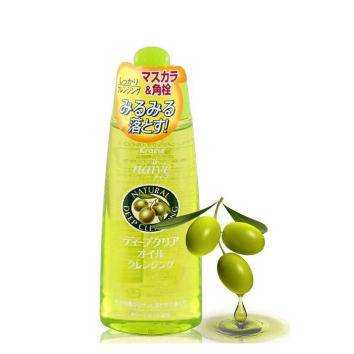 【Review Dầu Tẩy Trang Olive Kracie Naive Natural Deep Cleansing】